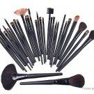 Nylon Hair Makeup Brushes Set (22 Pieces) w/ PU bag - 5124300