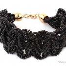 Women's Retro Bohemia Style Alloy Beads Bracelet - 5666100