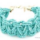 Women's Retro Bohemia Style Alloy Beads Bracelet - 5666101