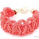 Women's Retro Bohemia Style Alloy Beads Bracelet - 5666102