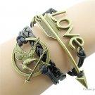 Love Arrow Women's Braided Bracelet - 5687501