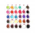10 Colors Glitter Powder Dust Nail Art Face Body Eyeshadow Palette (5g/10-Pack) - 9498300