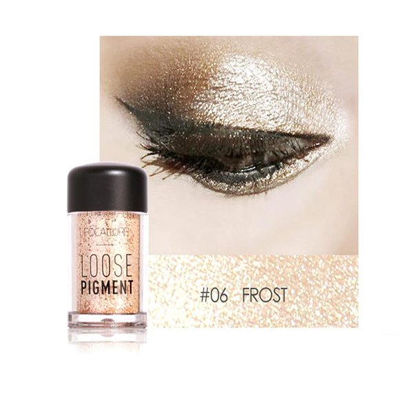 FOCALLURE FA37 Highlight Shimmer Pigment Powder Pearl Loose Eyeshadow Powder - 8509301