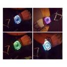 GENEVA Unisex Jelly Diamond Analog Quartz Wrist Watch - 6494201