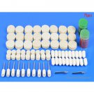 Wool Rotary Polisher Accessories Kit (75-Pack) - 7855600