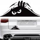 Peeking Monster Scary Eyes - funny vinyl sticker/decal for car, van boot, jdm