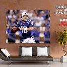 Peyton Manning Denver Broncos Nfl Sport Huge Giant Print Poster