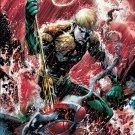 Aquaman DC Comic Art 16x12 Print Poster