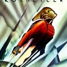 The Rocketeer Billy Campbell Vintage Movie Art 16x12 Print POSTER