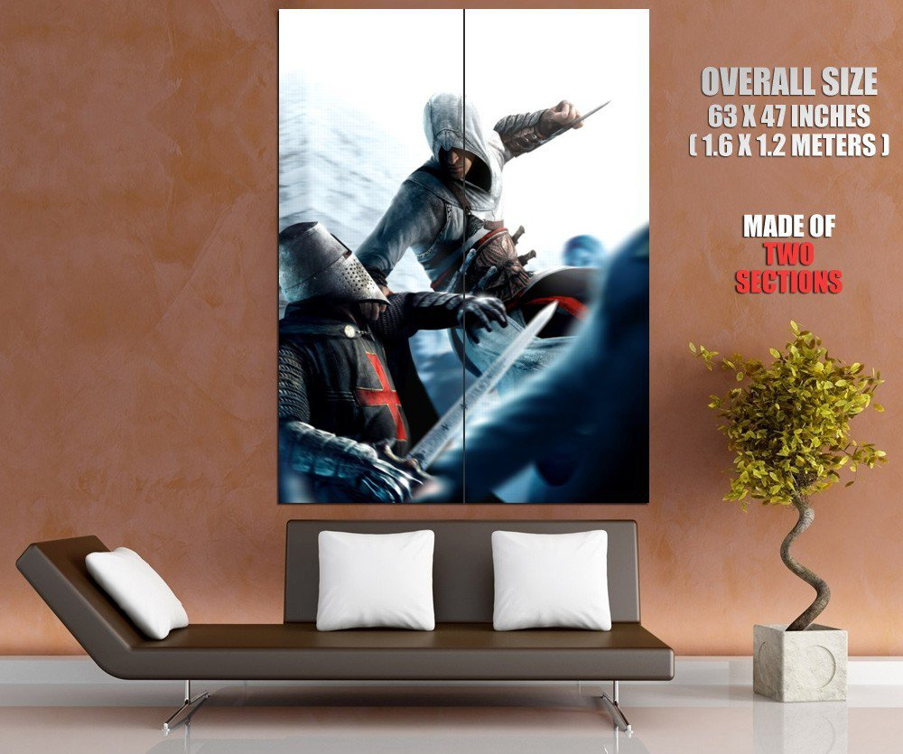 Assassin S Creed Video Game Art Huge Giant Print Poster