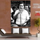 Pablo Emilio Escobar Colombian Drug Lord Outlaw Huge Giant Poster