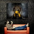 Breaking Bad Game Of Thrones Crossover Huge 47x35 Print Poster