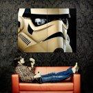 Stormtrooper Helmet Reflections Star Wars Art Huge 47x35 Print POSTER