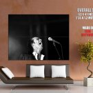 Nick Cave Post Punk Gothic Rock Music Bw Huge Giant Print Poster