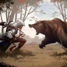 Assassin S Creed 3 Bear Game Art 32x24 Print Poster