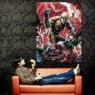 Aquaman DC Comic Art Huge 47x35 Print Poster