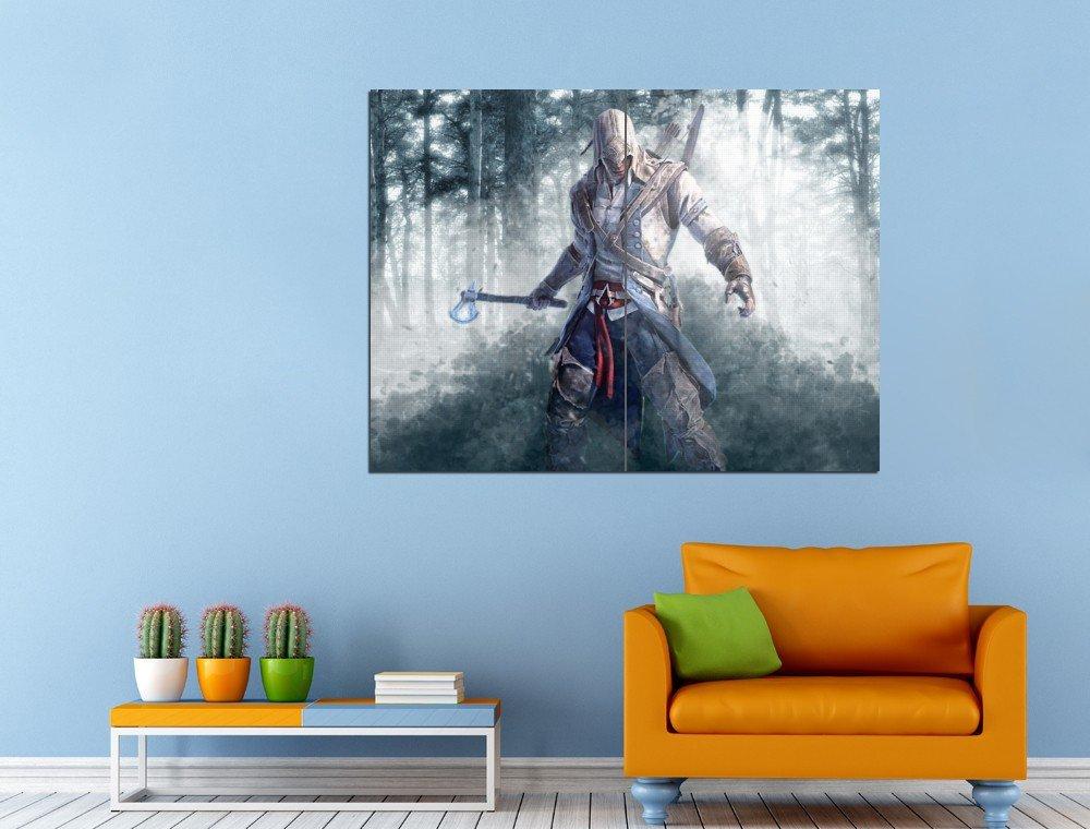 Assassins Creed Brotherhood Desmond Ezio Huge 47x35 Print POSTER