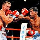 Arturo Gatti Vs Micky Ward Boxing Painting Art Sport 32x24 Print POSTER