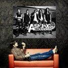 Asking Alexandria Band Music BW Huge 47x35 Print Poster