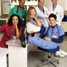 Scrubs TV Series Cast 24x18 Wall Print POSTER