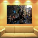 Watch Dogs Aiden Pearce Video Game Art Huge Giant Print Poster
