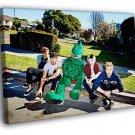 5 Seconds Of Summer Ashton Calum Michael Luke 50x40 Framed Canvas Print