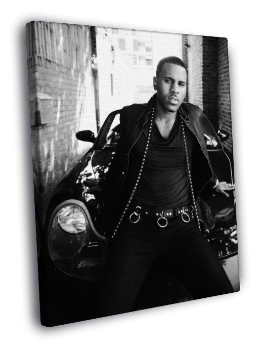 Jason Derulo Leather Jacket Car Amazing Hot 40x30 Framed Canvas Print