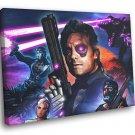 Far Cry 3 Blood Dragon Rex Power Colt Game Art 30x20 Framed Canvas Print
