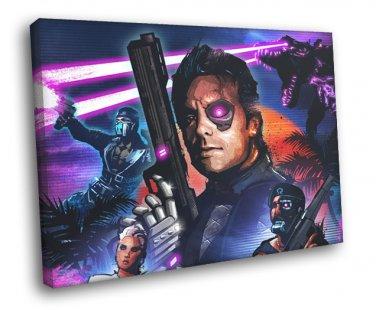 Far Cry 3 Blood Dragon Rex Power Colt Game Art 50x40 Framed
