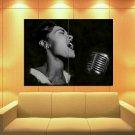 Billie Holiday American Jazz Singer Music 47x35 Print Poster