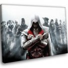 Assassin S Creed Brotherhood Computer Game 30x20 Framed Canvas Art Print