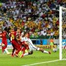 Miroslav Klose Shot Goal Germany 2014 FIFA World Cup 16x12 Print POSTER