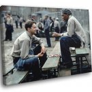 The Shawshank Redemption 1994 Best Movie Jail 30x20 Framed Canvas Print