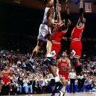John Starks Dunk Chicago Bulls New York Knicks Retro 24x18 Wall Print POSTER