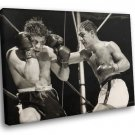 Rocky Marciano Legend Boxer Sport Fighting Photo 50x40 Framed Canvas Art Print