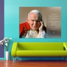 Beatification Of Pope John Paul II Quote 47x35 Print Poster