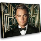 The Great Gatsby Leonardo DiCaprio 30x20 Framed Canvas Art Print