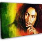 Bob Marley Reggae Jamaica Rastafari Painting 50x40 Framed Canvas Print