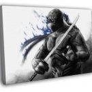 Leonardo Teenage Mutant Ninja Turtles Art TMNT 40x30 Framed Canvas Print