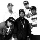 Nwa Rare Ice Cube Dr Dre Eazy E Dj Yella Mc Ren Gangsta 32x24 Wall Print Poster
