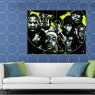 Wu Tang Clan Logo Members Art Group Band Hip Hop Rap HUGE 48x36 Print POSTER