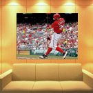 Bryce Harper Baseball Washington Nationals Sport 47x35 Print Poster