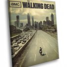 The Walking Dead TV Series 30x20 Framed Canvas Print