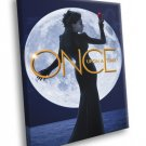 Once Upon A Time Evil Queen TV Series 50x40 Framed Canvas Print