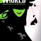 Wicked A New Musical Painting Vintage Music 32x24 Print Poster