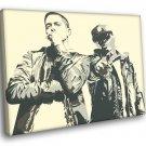 Eminem Royce Da 59 5 9 Rap Art Hip Hop 2014 40x30 Framed Canvas Print