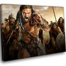 Spartacus War Of The Damned TV Series 50x40 Framed Canvas Art Print