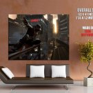 Watch Dogs Aiden Pearce Jump Train Game Art Giant Huge Print Poster