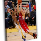 Blake Griffin Los Angeles Clippers Slam Dunk 50x40 Framed Canvas Print