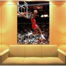 Michael Jordan Slam Dunk Contest Chicago Bulls Retro Huge Giant Print Poster
